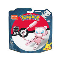 Mega Construx Pokemon Wonder Builders Mew Building Set NEW IN STOCK