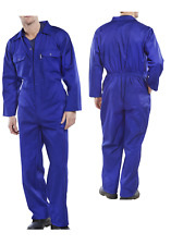 Arbeitskombi Kombi Overall blau 46-60 Arbeitsoverall Arbeitsanzug Blaumann RPCB