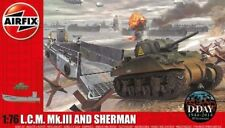 Airfix 1/76 LCM Mk III (Landing Craft Mechanized) & Sherman Tank D-Day Model KIT