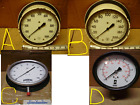"""Acco Helicoid Winters Pressure Gauges, New & Used, 6 & 8"""" Dials"""