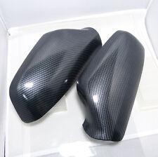 Spiegelkappen Set Carbon-Optik Wassertransferdruck Opel Astra G Aussenspiegel