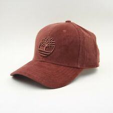 bb955f7162c Mens Timberland Cotton Cord Corduroy Strapback Baseball Cap Hat OS Oxblood