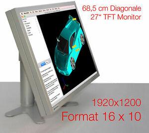 "26 13/16in 27 "" 16:10 1920x1200 Suxga Industry Monitor Metal INFOTRONIC L2702"