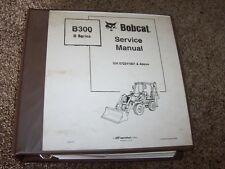 Bobcat Ingersoll Rand B300 Tractor Loader Backhoe Shop Service Repair Manual