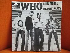 VINYL 45 T – THE WHO : SUBSTITUTE + INSTANT PARTY – EX ! - 1966 FRENCH PRESSING