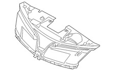 Genuine Ford Mount Panel DA5Z-8A284-AA
