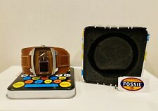 Fossil Quartz Analog and Digital Brown Leather Watch # JR9633 (Men Watch)
