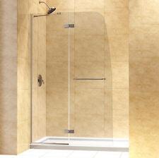 "DREAMLINE""45"" AQUA ULTRA FRAMELESS SHOWER SHIELD DOOR 5/16"" GLASS"