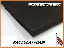 Motorcycle Seat Foam, 10mm Thick, Self Adhesive * Fast Next Day delivery *