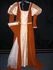 Renaissance Faire Princess Adult Medium Velvet