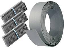 Randband Set besteht aus 1x Profilband 14cm + 30 Pfähle 38cm Teichrand Teichband