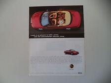 advertising Pubblicità 1998 CHRYSLER STRATUS CABRIO