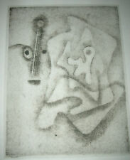 PAUL KLEE 1947 Limited Edition Lithograph L'HOMME APPROXIMATIF
