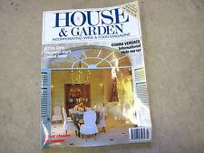 House & Garden revista de Julio 1993 - Vintage homes publicación - usado
