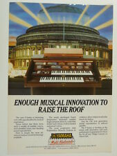 retro magazine advert 1984 YAMAHA home organ F series