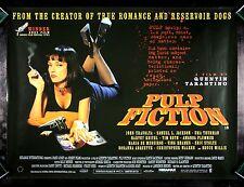 PULP FICTION * CineMasterpieces VINTAGE ORIGINAL BRITISH QUAD MOVIE POSTER 1994