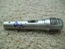 ROBIN THICKE SIGNED NEW MICROPHONE w/EXACT VIDEO PROOF AUTOGRAPH B BLURRED LINES