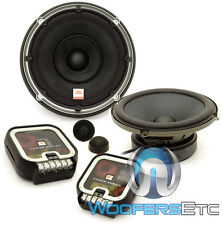 """JBL P660C POWER 6.5"""" 270W COMPONENT SPEAKERS TEXTILE DOME TWEETERS CROSSOVERS"""
