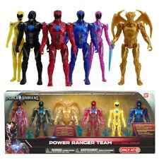 Bandai Collectible Power Rangers Team 6-Piece Set With Goldar Action Figures