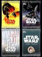 TOPPS STAR WARS DIGITAL CARD TRADER - Pack Art Lot Of 4 Rare/Super Rare Cards
