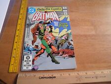 Detective Comics Batman 521 Vf/Nm 1980s Bronze age Jim Aparo art Green Arrow