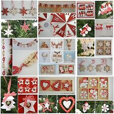 Christmas decorations - box sets, garlands, bunting, reindeer, tree, santa claus