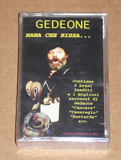 GEDEONE - MAMA CHE BISSA... - MUSICASSETTA MC SIGILLATA (SEALED)