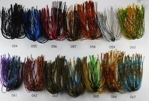 Scorpion Hole In One Jig Skirt 23 Various Skirt Colors to choose From