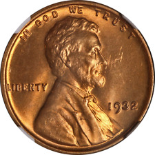 1932-P Lincoln Cent NGC MS65RD Great Eye Appeal Strong Strike