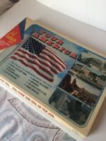 VINTAGE Know Your America 1970 Cadaco Board Game