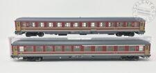 HR4244 RIVAROSSI set 2 carrozze FS rosso fegato 2°cl e mista - ep. V