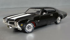1:18 Ertl American Muscle Black 1969 Oldsmobile 442 W30 Item 8113