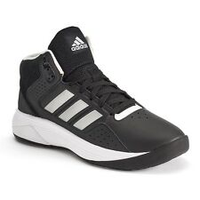 adidas Cloudfoam Ilation black Mens Leather Basketball Shoes sneakers boots 11