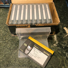 Ten in Box Panasonic Dvcpro 126L Aj-P126Lp Tapes Video Casettes Used Once