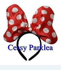 Deluxe Plus-size Minnie Mouse Ears Headband Disney Costume Fancy Dress Accessory