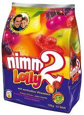 nimm2 Lollipops Familypack 190g / 6.7oz    **Made in Germany** BEST PRICE
