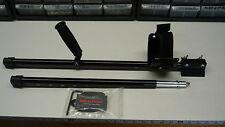 Plugger's 2 piece Aluminum Travel Shaft for Fisher CZ-21 CZ-20  & 1280 Detectors