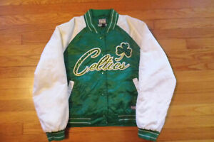 Boston Celtics Womens Sport Jacket. Made by G-III. Size L. Used