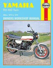 Yamaha RD400 Haynes Manual de Taller Nuevo En Inglés