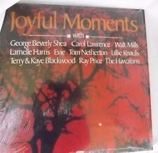 Joyful Moments George Shea,C Lawrence,W Mills,Evie,& Others Gospel Vinyl Record