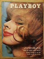 Playboy April 1962  * GOOD CONDITION * Free Shipping USA