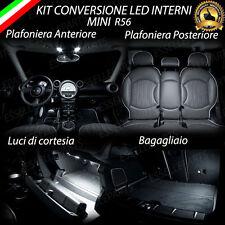 KIT FULL LED INTERNI MINI COOPER R56 KIT COMPLETO + LED TARGA + LED POSIZIONE