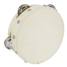 More details for a-star tambourine - 6 inch