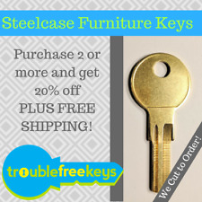 Replacement Steelcase Furniture Key FR400 - Buy 2+ save 20%