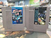 Super Spy Hunter & Spy Hunter Nintendo NES Authentic Cart Only -- S2G --
