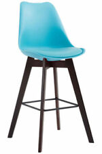 Chaises bleu en plastique pour la salle à manger