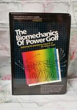 THE BIOMECHANICS of POWER GOLF by  Dr. Gideon Ariel-VHS & AUDIO Tape SET  -b8