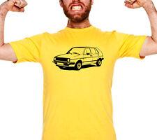 Auto T-shirt Volkswagen Golf Mk2 VW Golf II Oldschool Geschenk Vintage Gift 004