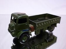 DINKY TOYS 623 MILITARY ARMY WAGON - ARMY GREEN - GOOD CONDITION