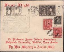 CANADA, 1930. First Flight 34,96,140,151 Saskatoon - Wiinnipeg